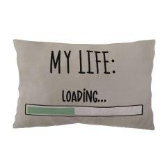 Almofada Estampada 35X45cm Havan - My Life Bege
