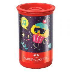 Apontador Com Depósito Candy Party Faber-Castell - 123CPZF