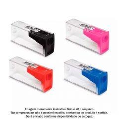 Apontador Com Depósito Mix Faber-Castell - SM/060124ZF