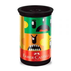 Apontador Com Depósito Monster Puzzle Faber-Castell - 123MPZZF