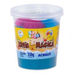 Areia Mágica 550 Gramas Azul Acrilex - 109