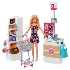 Barbie Supermercado Mattel - FRP01 - Colorido