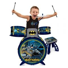 Bateria Infantil Batman Cavaleiro Das Trevas Fun - F0004-1