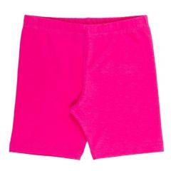 Bermuda 1 a 3 Anos Ciclista Cotton Básica Yoyo Kids Rosa Pink