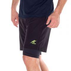 Bermuda com Shorts Térmico Scream Preto