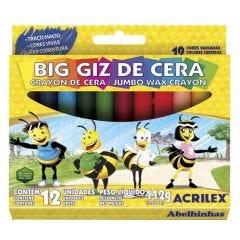 Big Giz De Cera Com 12 Cores Acrilex - 09133