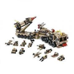Bloco de Montar 12 em 1 com 549 peças Multikids - BR1096