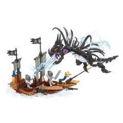 Blocos de Montar Dragão Pirata Xalingo - 11832 - Preto