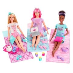 Boneca Barbie Princess Adventure Slumber Party Mattel - GJB68