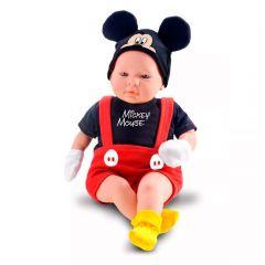 Boneco Mickey Recém Nascido 5161 Roma Brinquedos - Vermelho