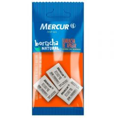Borrachas Record 40 Com 3 Unidades Mercur - B01010301008-H
