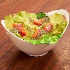 Bowl para Salada Melanina Oval - Branco