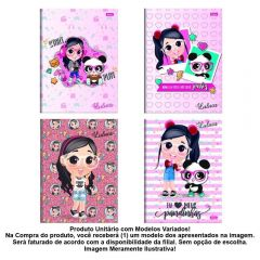 Caderno Brochura 80 Folhas Luluca Foroni - 40.6902-0