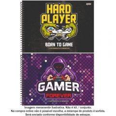 Caderno De Cartografia Player 80 Folhas Jandaia - 69061-21
