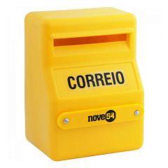Caixa de Correspondência Correio Nove54 - Amarelo