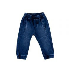 Calça de Bebê  Jeans Marmorizado Yoyo Baby Azul