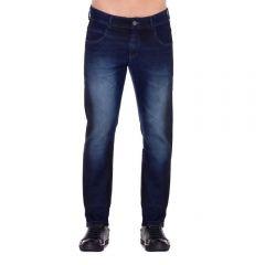 Calça Jeans com Bigode 3D Thing Blue