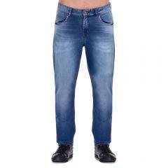 Calça Jeans com Bigode a Laser Thing Blue