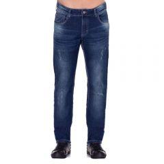 Calça Jeans com Leves Puídos Thing