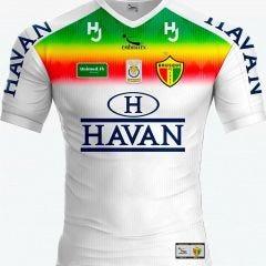 Camisa Brusque FC 2020 Adulto Patrocínio Havan Branco