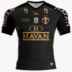 Camisa Brusque FC 2020 Adulto Patrocínio Havan Preto