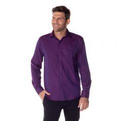 Camisa Oxford Marc Alain Uva
