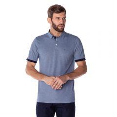 Camisa Polo Mesclada Marc Alain