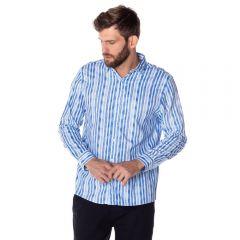 Camisa Social Listra Aquarela Thing