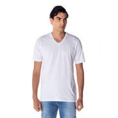 Camiseta Basica Gola V Risk