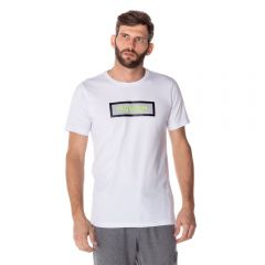 Camiseta com Aplique Scream Branco