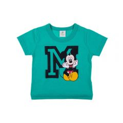 Camiseta de Bebê do Mickey Disney Herbal