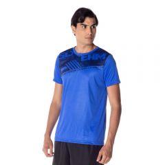 Camiseta Malha Dry com Estampa Scream Azul