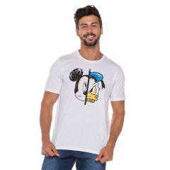 Camiseta Mickey e Donald Disney Branco