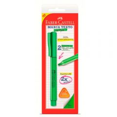 Caneta Marca Texto Grifpen Verde Faber-Castell - SM/MTVDZF