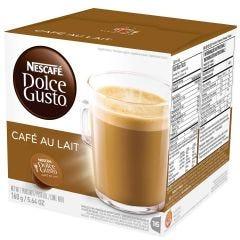 Capsula de Nescafé Dolce Gusto Nestle 160G - Cafe Au Lait