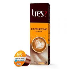 Cápsulas Cappuccino 11G Tres - 10 Cápsulas