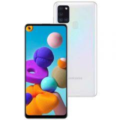 "Celular Smartphone Galaxy A21s 64Gb 6,5"" Samsung - Branco"