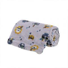 Cobertor Bebê Microfibra 90X100cm Yoyo Baby - Floresta