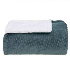Cobertor Casal Dupla Face London - Verde Ingles