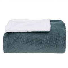 Cobertor Queen Dupla Face London- - Verde Ingles