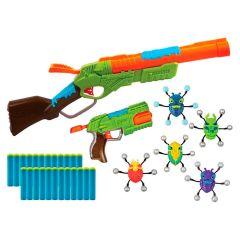 Conjunto de Lançadores de Dardos Bug Attack Candide - Verde