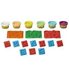 Conjunto de Massinhas Play-Doh Números Hasbro - E8533 - Colorido