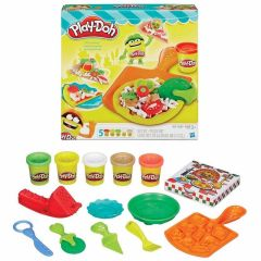 Massinha de Modelar Play-Doh Festa da Pizza Hasbro - DIVERSOS
