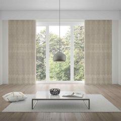 Cortina Duplex 4,20x2,50m Quarto e Sala Valência - Bege