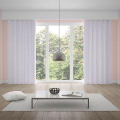 Cortina Duplex Lisa 5,40x2,70m Quarto e Sala - Branco