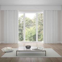 Cortina Duplex Tecido Pádua 4,20x2,50m Bella Janela - Branco