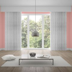 Cortina Duplex Valência 4,20x2,30m Quarto e Sala - Branco