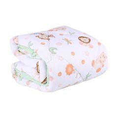 Edredom Infantil 100x140cm Malha Yoyo Baby - Verde Claro