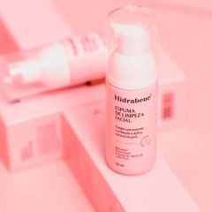 Espuma de Limpeza Facial 50ml Hidrabene  - Rosa