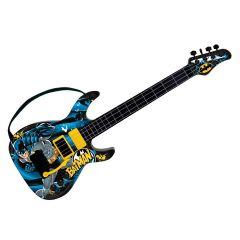 Guitarra Infantil Batman Cavaleiro das Trevas Fun - Preto